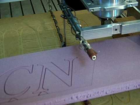 Mach3 Cnc Hot Wire Foam Cutter Youtube