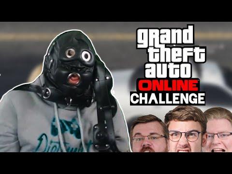 Challenge: Mit verbundenen Augen zum Ziel 🎮 Grand Theft Auto Online #191
