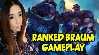 Braum Support Ranked Gameplay S7 - Braum vs Janna - League of Legends