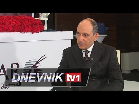 Intervju - Akbar Al Baker, direktor Qatar Airwaysa