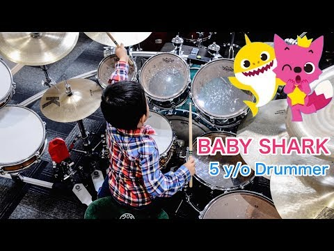 BABY SHARK DANCE | Drum Cover | Amazing Child Drummer