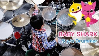 BABY SHARK DANCE | Drum cover | Amazing Child Drummer MP3