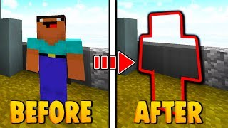 Minecraft Hypixel INVISIBLE Skin Trolling! (Works 100% ON ALL SERVERS)
