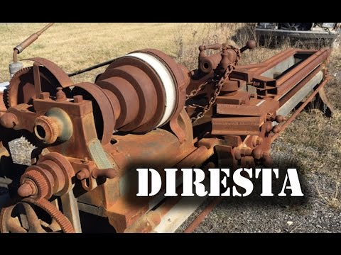 ✔ DiResta 12 HUGE Lathe