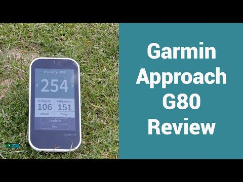Doppler radar for every golfer? Garmin Approach G80 Launch Monitor review