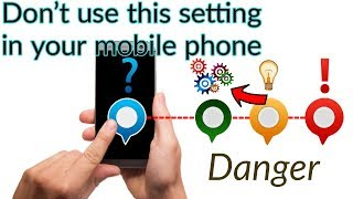 How to remove this setting in your android mobile phone..