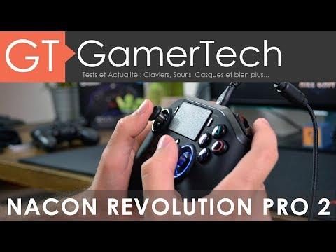 Nacon Revolution Pro 2Unboxing & Test [FR]Manette eSport PS4/PC