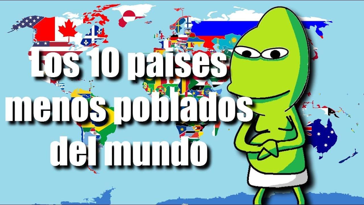 Los 10 paises menos poblados del mundo juanmitops 2016 for Oficina de extranjeria avenida de los poblados