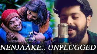 Aaradhike Unplugged | Nenjake | PATRICK MICHAEL | Malayalam unplugged | Malayalam cover