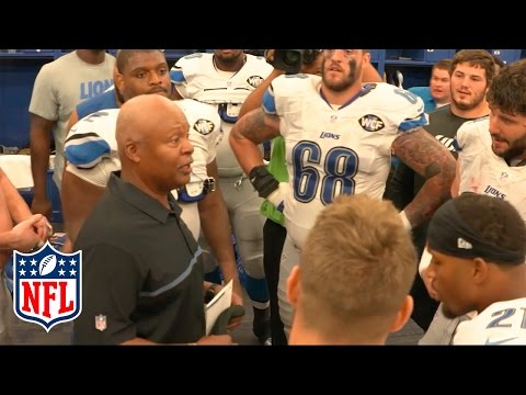 Detroit Lions Locker Room Speech & Celebration | Lions vs Colts | NFL