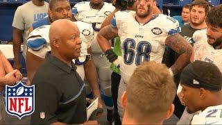 Detroit Lions Locker Room Speech & Celebration | Lions vs Colts | NFL