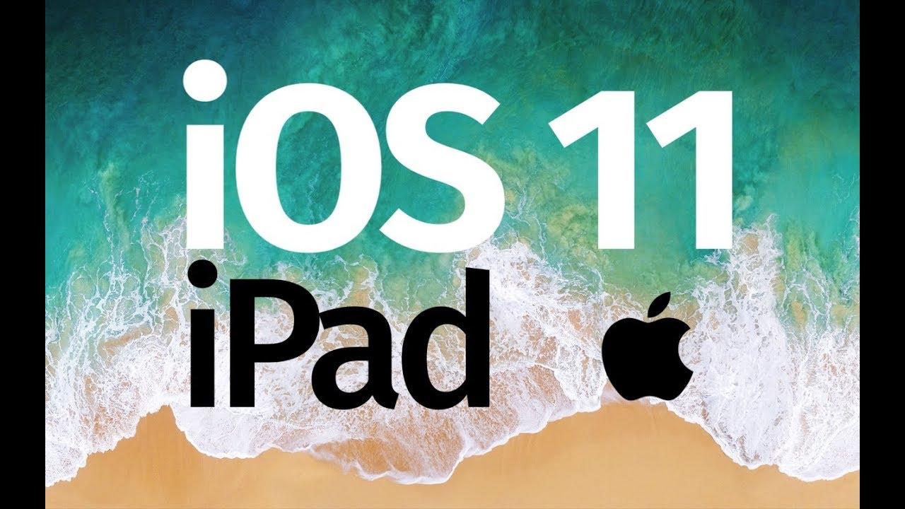 update ipad mini to ios 11