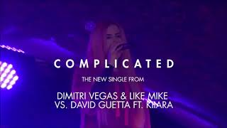 Dimitri Vegas & Like Mike & David Guetta ft Kiiara - Complicated with Lyrics