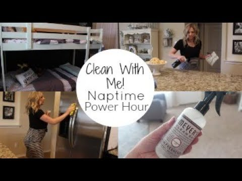 CLEAN WITH ME 2017 | Naptime POWER HOUR| Stay at home MOM