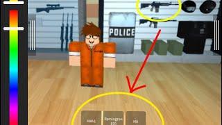 Prison Life Gun Glitch!! -Roblox Hacks v1