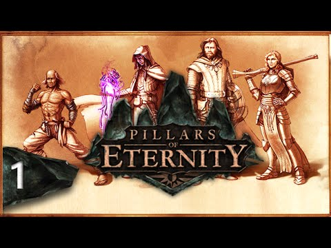 Mr. Odd - Let's Play Pillars of Eternity - Part 1 - Unnaturally, In Death.