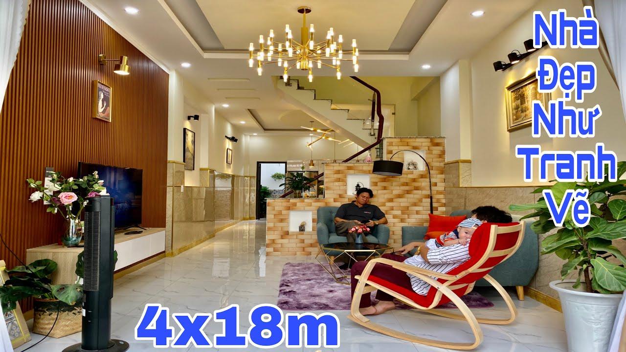 Bán nhà Gò Vấp TPHCM| Siêu phẩm nhà phố thiết kế theo phong cách hiện đại tuyệt đỉnh| giá rẻ 5.6 tỷ