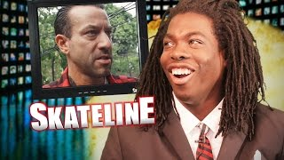 SKATELINE - Brian Anderson, Guy Mariano, Frankie Spears, 21 Stair Feeble Grind