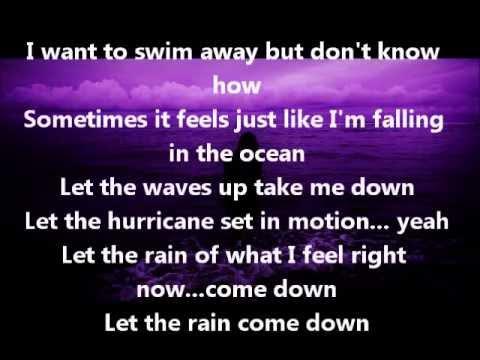 Into The Ocean- Blue October Lyrics