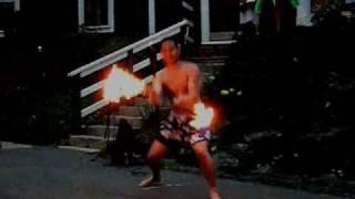 Dc Luau- Samoan Fire Knife Dance (Siva Afi)