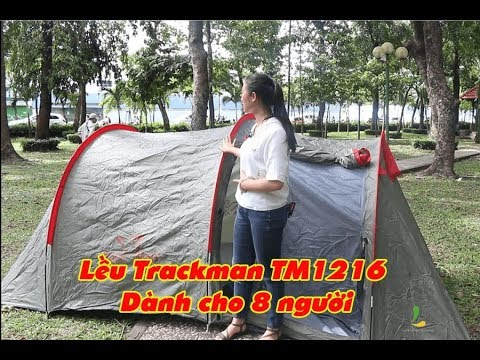 Hướng dẫn dựng lều Trackman TM1216 dành cho 8 người – Chống thấm nước