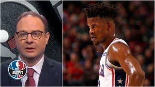 Woj: Jimmy Butler's behavior in recent film session considered 'disrespectful'   NBA Countdown