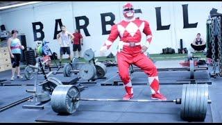 I Am The Red Ranger (675lbs deadlift)