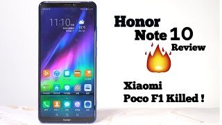 Honor Note 10 Review : Xiaomi Poco F1 Killed !