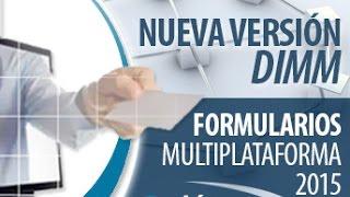 Actualización Dimm Formularios 2015