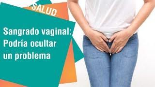 La vulva sangrante en dolor