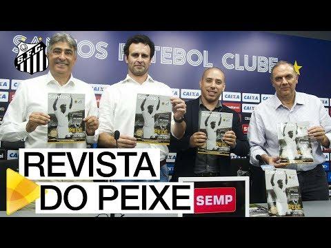Santos FC apresenta sua nova revista oficial