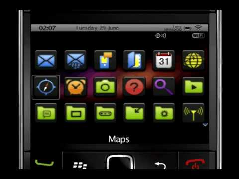 IColor Theme For BlackBerry