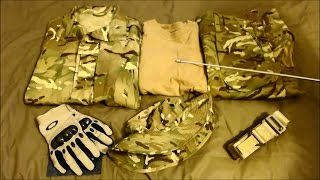 MTP Airsoft Loadout, British Army, G&G L85A2, G&G L119