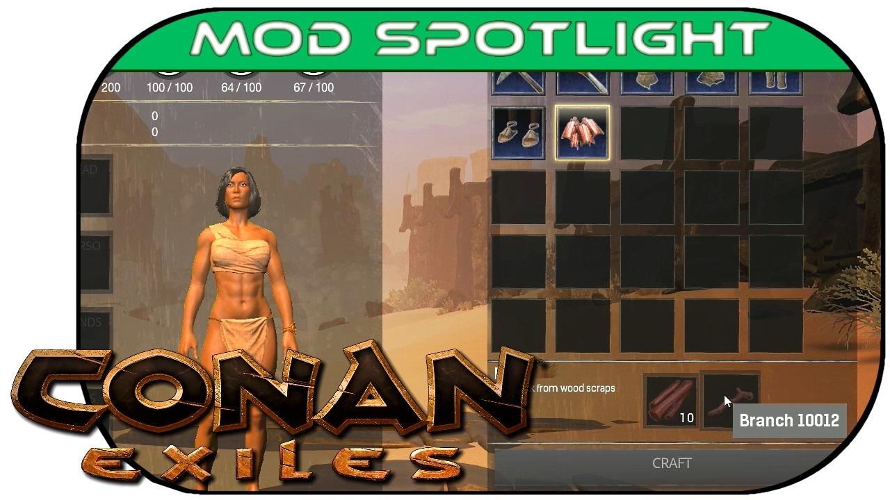 CRAFTABLE BARK & MAP COORDS! :: CONAN EXILES Mod Spotlight