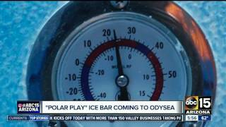 Polar Play ice bar ready to open in Scottsdale