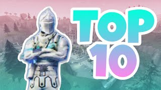 TOP 10 SKINS WHAT TO WANT TO HAVE/FORTNITE BATTLE ROYALE