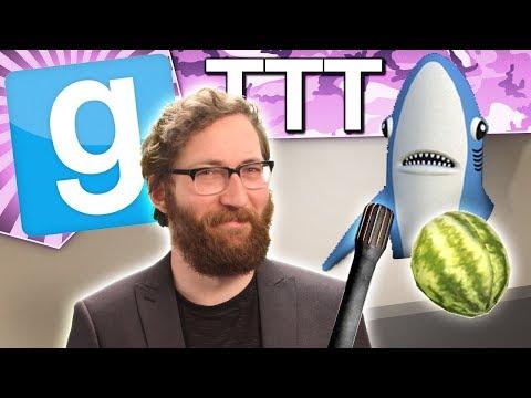 WALL SHARK | Gmod TTT