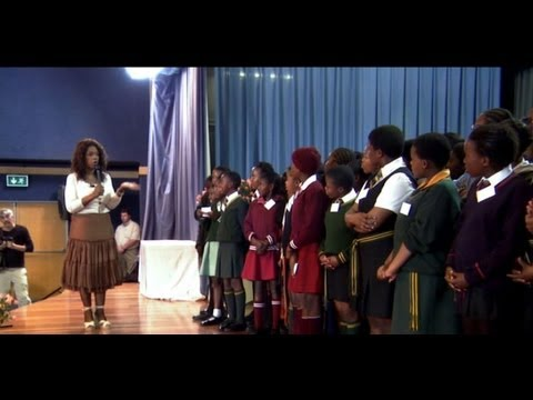 Oprah's South African Leadership Academy for Girls; First Graduating Class From Media Mogul's School