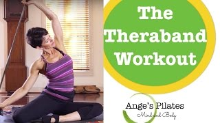 30 Minute Pilates Workout with a Thera-band