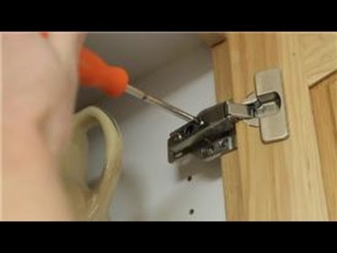 Cabinets Around The House How To Fix A Crooked Kitchen Cabinet Door You