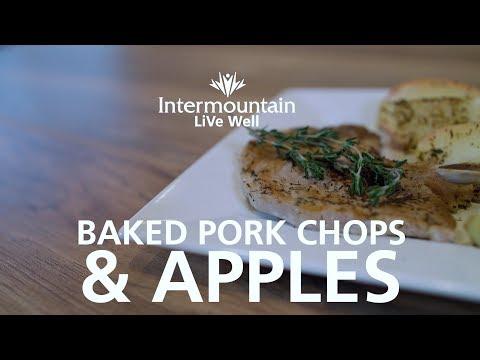 LiVe Well Baked Pork Chops & Apples