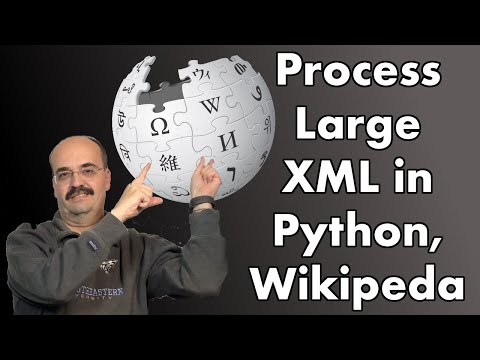 Processing Large XML Wikipedia Dumps That Won't Fit In RAM In Python Without Spark