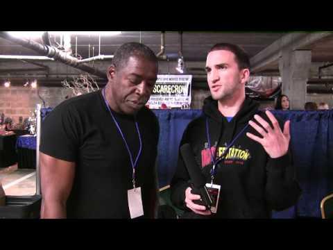 Ernie Hudson Interview Crypticon 2010 - The MacGuffin