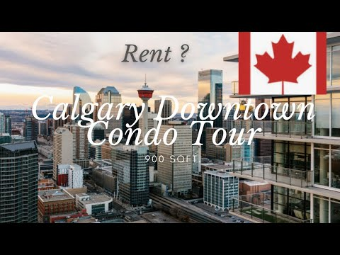 Condo Tour | What a 0 Apartment In Downtown Calgary Looks Like | Rent in Canada