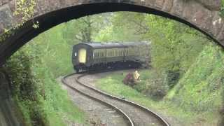 (HD) West Somerset Railway. Bank Holiday Monday 4th May 2015.