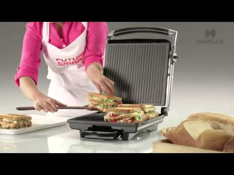 Havells Toastino 4 slice Sandwich Grill Demo