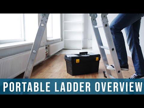 Portable Ladder Safety | Tutorial, Hazards, Training, Oregon OSHA
