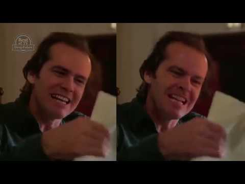 Amazing Deep Fake Video Jim Carrey & Jack Nicholson
