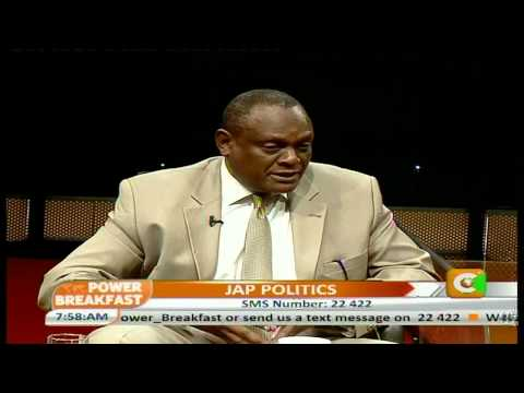 Power Breakfast Interview with David Murathe-Vice Chairman,JAP