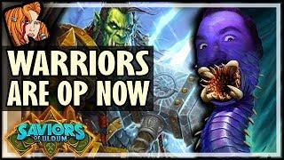 HOW THEY MADE WARRIOR OP! - Saviors of Uldum Hearthstone